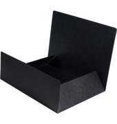 Aktenmappe A4 Karton schwarz
