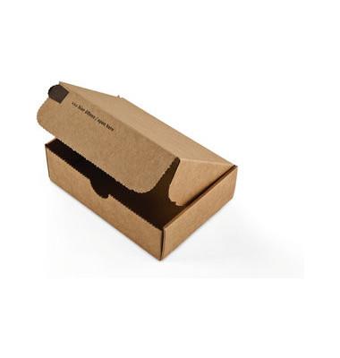 Versandschachtel Modulbox 192x155x43 mm braun 20 Stück