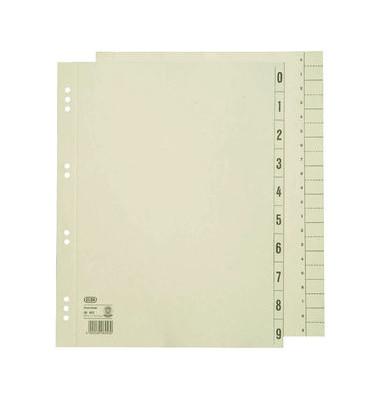 Trennblätter 06453 A4 überbreite chamois 230g 100 Blatt