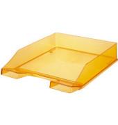 Briefablage 1026 A4 / C4 orange-transparent stapelbar