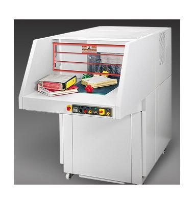 Aktenvernichter 5009-3 CC 6 x 50mm CrossCut perlgrau bis 400 Blatt
