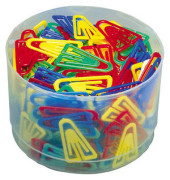 Plastik-Clip 1303-98, 35mm, Kunststoff farbig sortiert, 200 Stück
