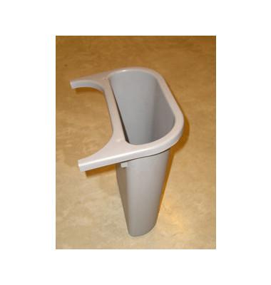 Abfalleinsatz 4,5 Liter grau