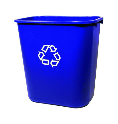 Abfalleimer 26,6 Liter blau