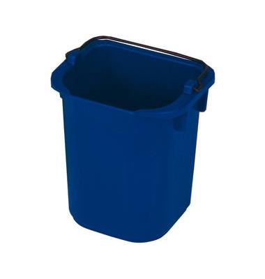 Eimer R050771 mit Ausgießer blau 5 Liter viereckig