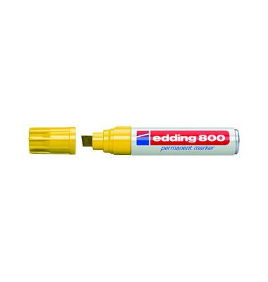 Permanentmarker 800 gelb 4-12mm Keilspitze