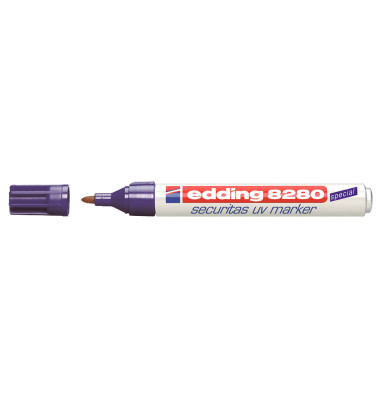 UV-Marker 8280 farblos 1,5-3 mm Rundspitze