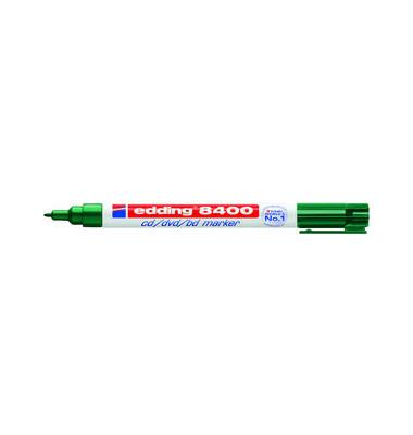 CD/DVD/BlueRay-Marker 8400 grün 0,5-1mm Rundspitze