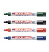 CD/DVD/BlueRay-Marker 8400 4er Etui farbig sortiert 0,5-1mm Rundspitze