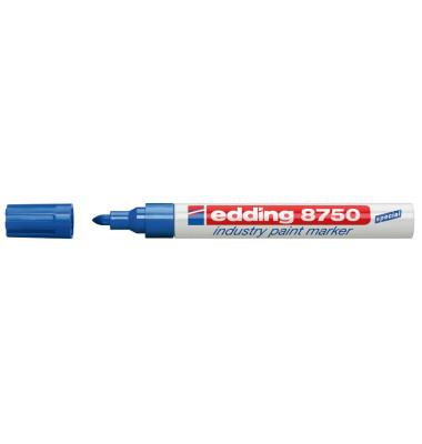 Lackmarker 8750 Industrie blau 2-4mm Rundspitze