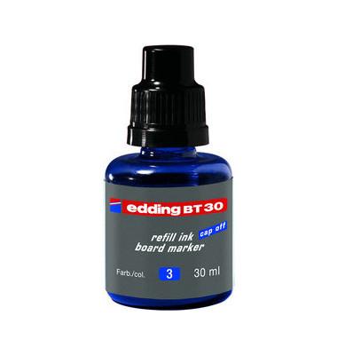 Nachfülltusche BT30 für Boardmarker blau 30 ml