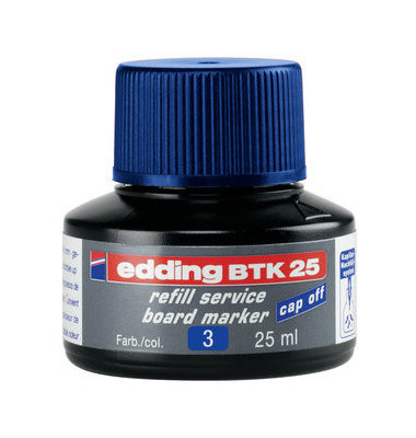 Nachfülltusche BTK 25 für Bordmarker blau 25ml