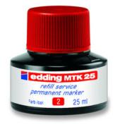 Nachfüllfarbe MTK25 rot Permanentmarker 25 ml