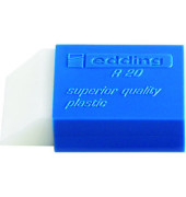 Radiergummi R20 weiß/blau 44x24x11,5mm