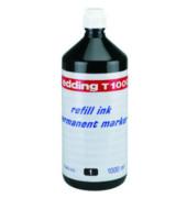 Nachfüllfarbe T1000 für Permanentmarker schwarz 1 Liter