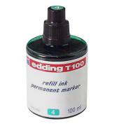 Nachfüllfarbe T100 für Permanentmarker grün 100 ml