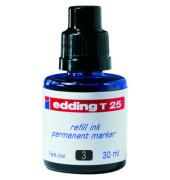 Nachfüllfarbe T25  Permanentmarker dunkelblau 30 ml