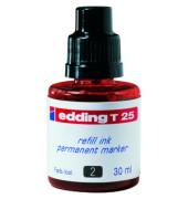Nachfüllfarbe T25 Permanentmarker rot 30 ml