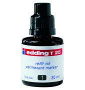 Nachfüllfarbe T25 Permanentmarker schwarz 30ml