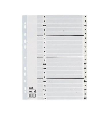 Register 03481 A-Z A4 0,15mm weiße Taben 20-teilig