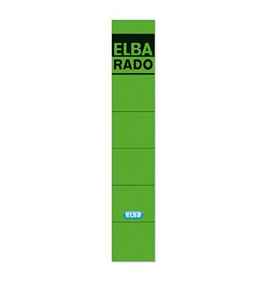 Rückenschilder 04614 34 x 190 mm grün 10 Stück zum aufkleben