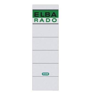 Elba Rückenschilder 04617 59 x 190 mm chamois 10 Stück zum Aufkleben