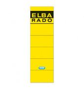Rückenschilder 04617 59 x 190 mm gelb 10 Stück zum aufkleben