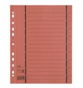 Trennblätter 06456 A4 orange perforiert 250g Karton 100 Blatt Recycling