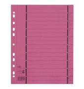 Trennblätter 06456 A4 rot perforiert 250g Karton 100 Blatt Recycling