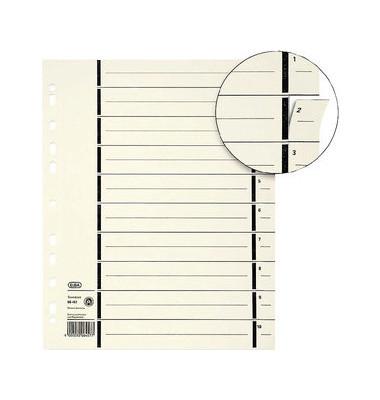 Trennblätter 06457 A4 chamois perforiert 230g 100 Blatt