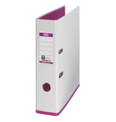 myColour 100081031 weiß/pink Ordner A4 80mm breit