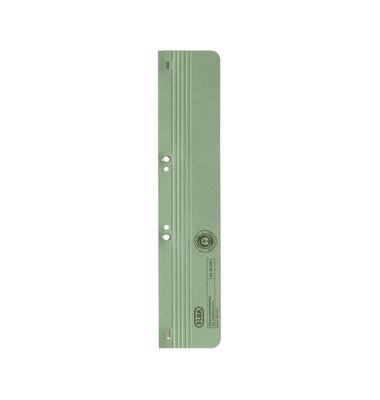 Ösenschmalhefter Karton 250g grün 65x305mm 100 St