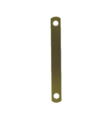 Deckleiste 100420792, 11x95mm, Metall mit Metalldeckleiste, messing, 100 Stück