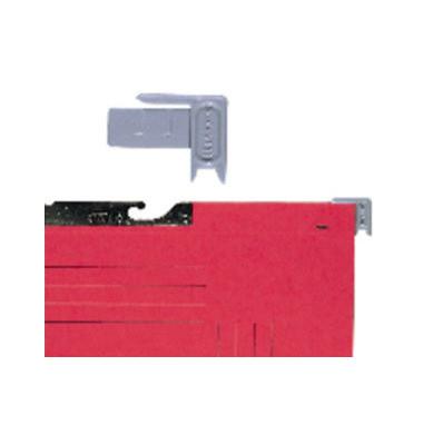 Hängestecker aus PS grau 43x32mm 100 St