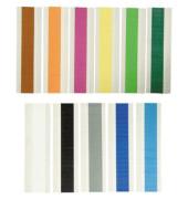 Farbsignale s.k.Folie schwarz 25x9mm 100 St