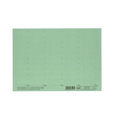 Beschriftungsschilder 83582 4-zeilig  grün 58mm breit