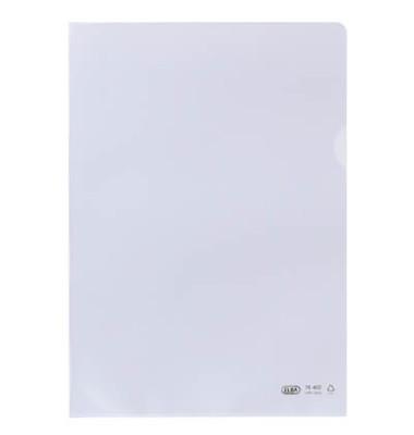 Sichthüllen Premium 100461000, A4, farblos, transparent, genarbt, 0,15mm, oben & rechts offen, PP