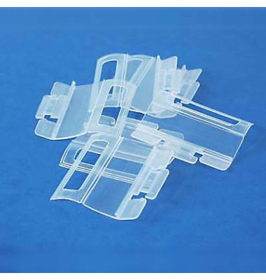 Vollsichtreiter m. Klapprückw. glasklar 58mm 4zlg. 25 St