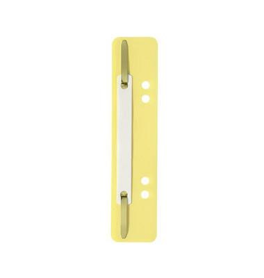 Heftstreifen kurz PP gelb 35x150mm 100 Stück