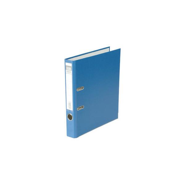 Elba rado brillant 10414bl blau ordner a4 50mm schmal for Schreibtisch lang schmal