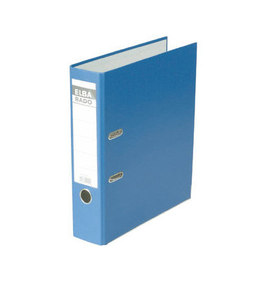 Ordner rado brillant 10417 A4 80mm vollfarbig blau