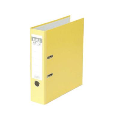 Ordner rado brillant 10417 A4 80mm vollfarbig gelb