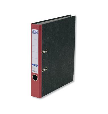 Smart Original 10425 Wolkenmarmor rot Ordner A4 50mm schmal