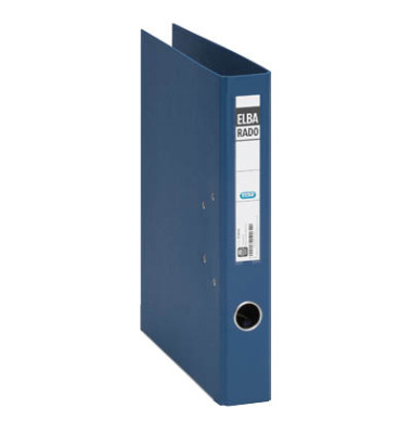 Rado Plast 10494BL blau Ordner A4 50mm schmal