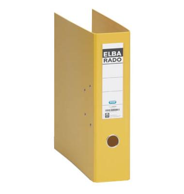 Rado-Plast 10497GB gelb Ordner A4 75mm breit