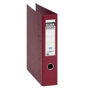 Doppelordner rado plast 2x A5-quer rot 75mm 2x 2-Ringmechanik PVC