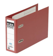 Ordner Rado 10596 Plastik A5 quer rot 75mm