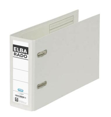Ordner Rado 10596 Plastik A5 quer weiß 75mm