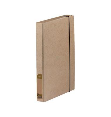 Sammelmappe Touareg 100200413, A4 Karton, für ca. 350 Blatt, beige