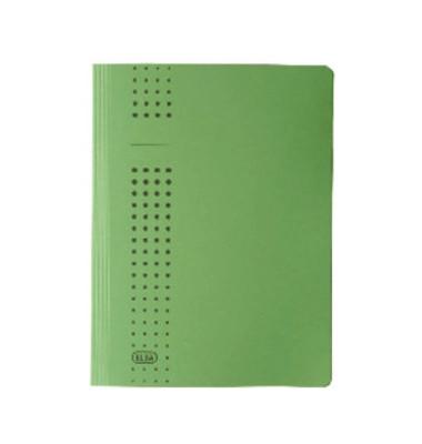 Schnellhefter CHIC A4 grün 320g Karton kaufmännische Heftung